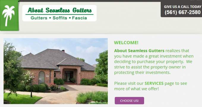 About Seamless Gutters