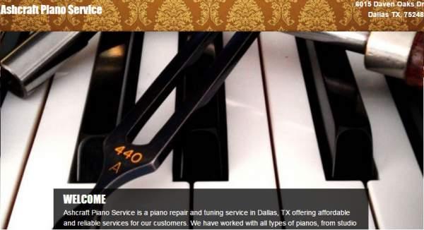 Ashcraft Piano Service
