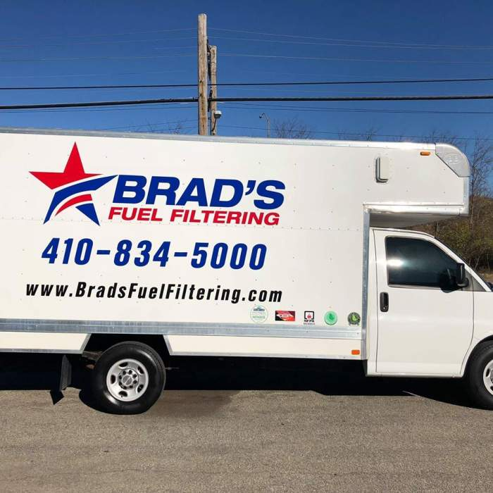 Brads Fuel Filtering Inc