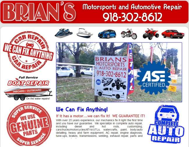 Brians Motorsport Automative Repair