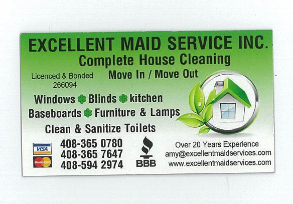 Excellent Maid Service Inc