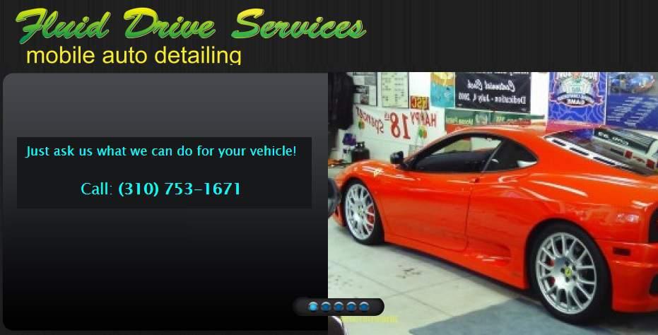 Fluid Drive Services Mobile Auto Detailing & Car Wash