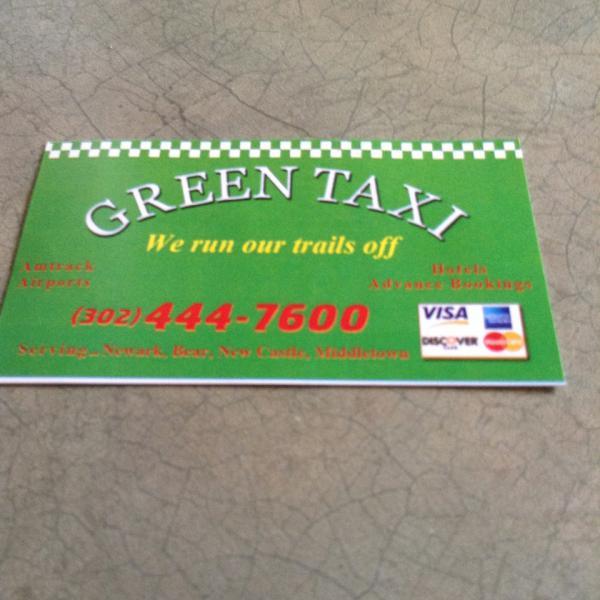 Green Taxi DEL*CAB