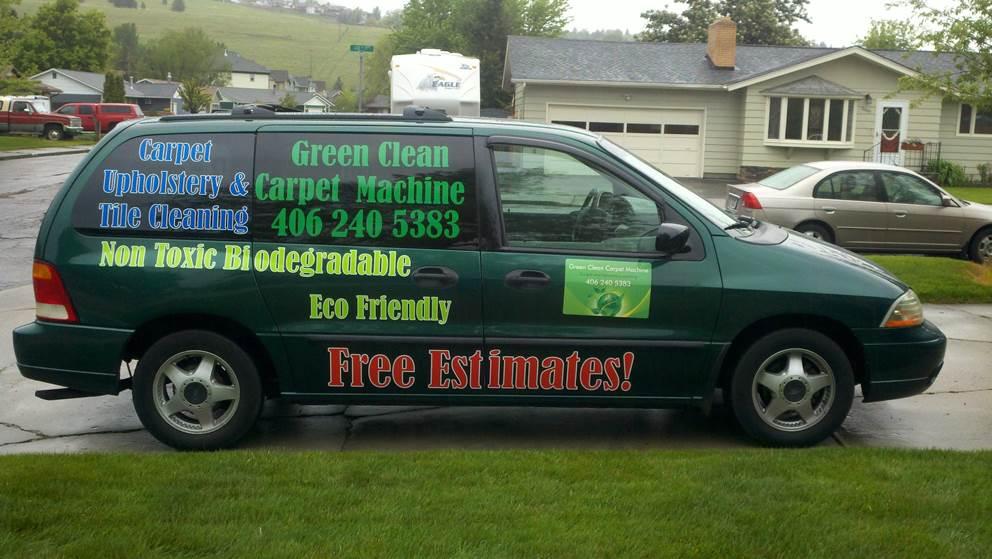 Green Clean Carpet Machine