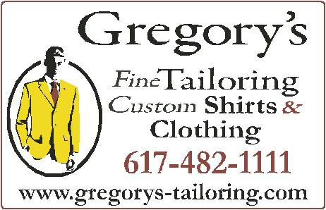 Gregory's Fine Tailoring and Clothing