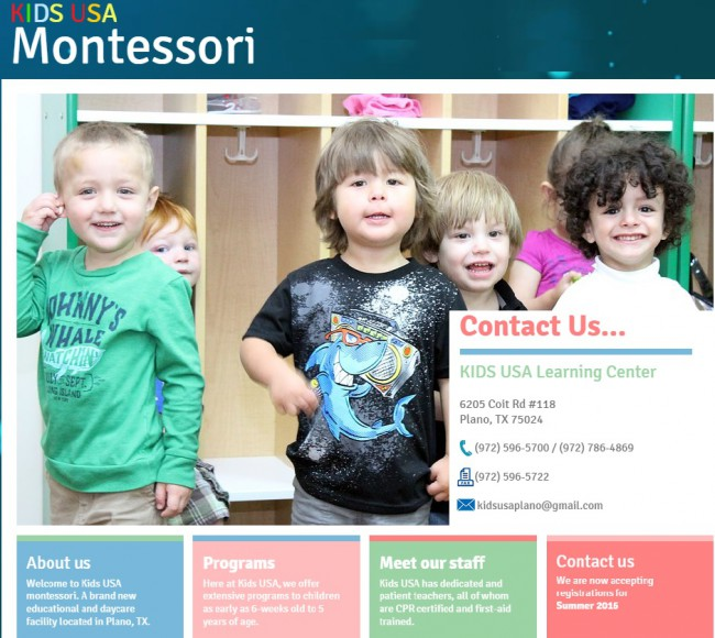 Montessori Kids USA Learning Center