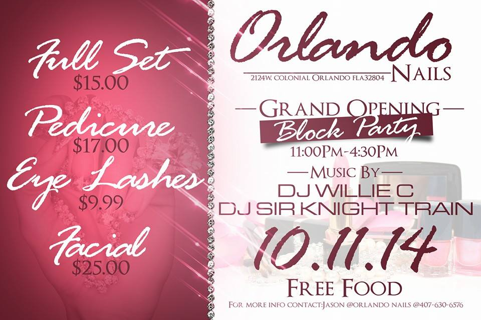ORLANDO NAILS DAY SPA