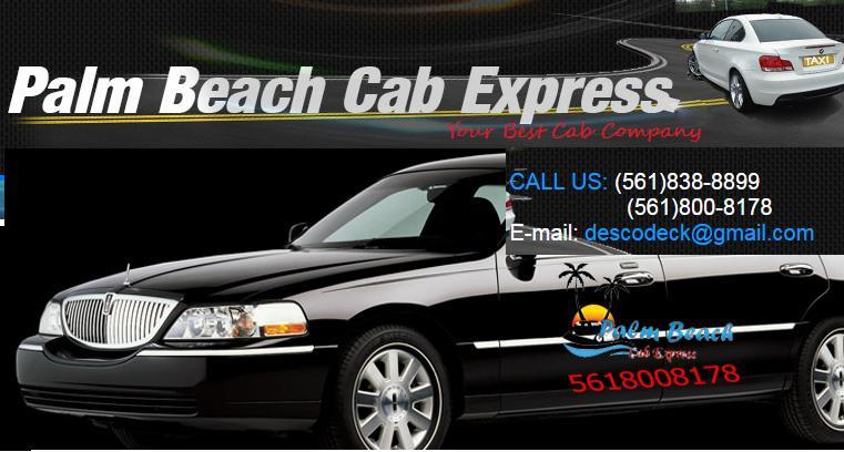 Palm Beach cab Express / limo