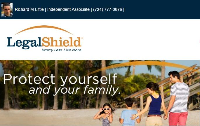 Independent LegalShield Associate - Richard M Little