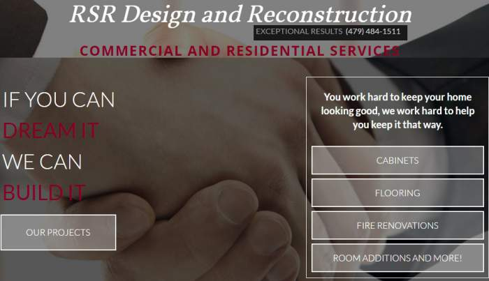 R S R Design & Reconstruction