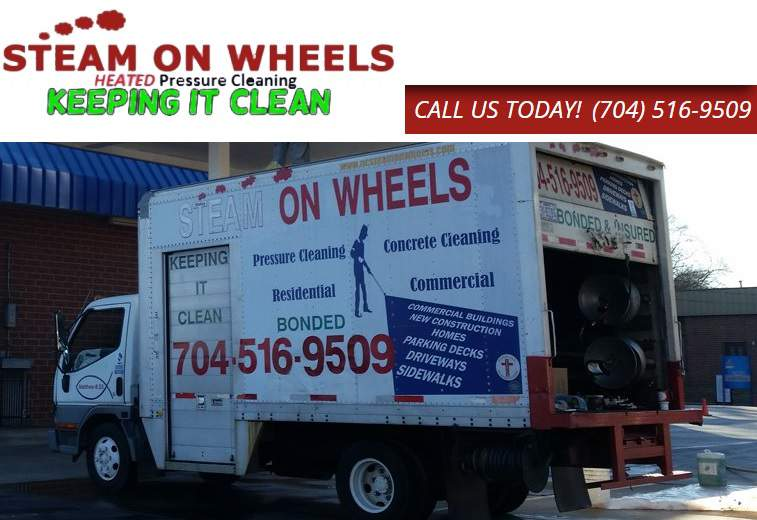 Steam On Wheels Pressure Washing inc